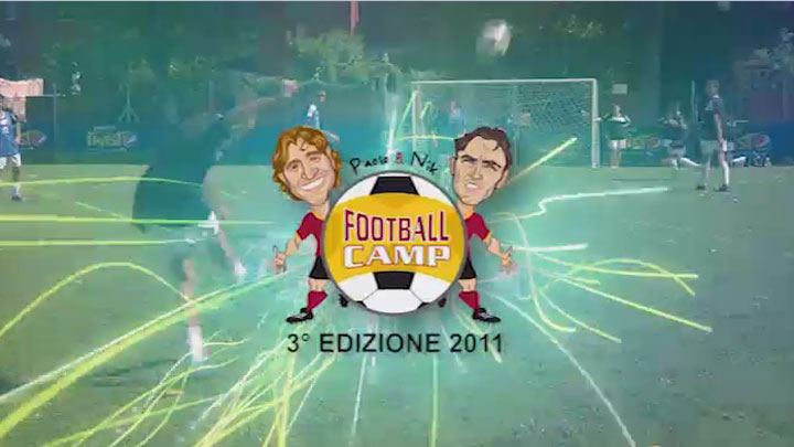 Paolo e Nik Football Camp