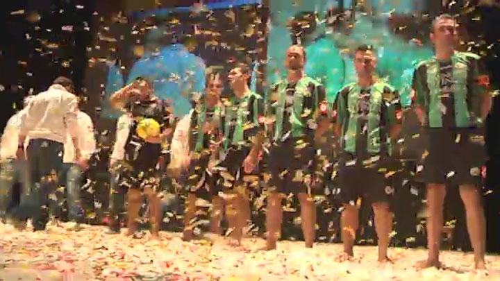Il Venezia Beach Soccer in sfilata a Sport sotto le Stelle